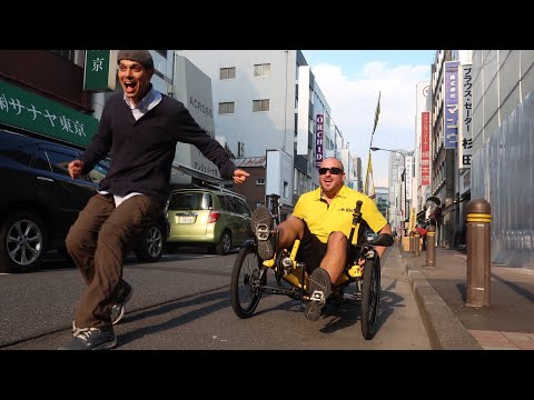 He's Cycling Around Japan (and the World!)