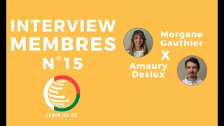 INTERVIEW MEMBRES N°15 : Morgane & Amaury