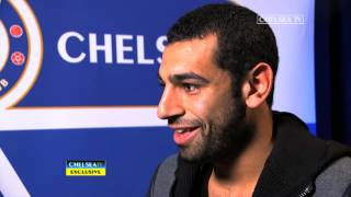 EXCLUSIVE: New signing Mohamed Salah speaks to Chelsea TV