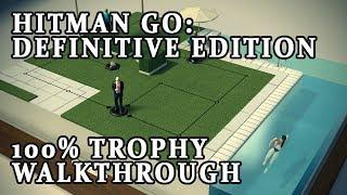 Hitman GO Definitive Edition 100% Walkthrough Trophy guide