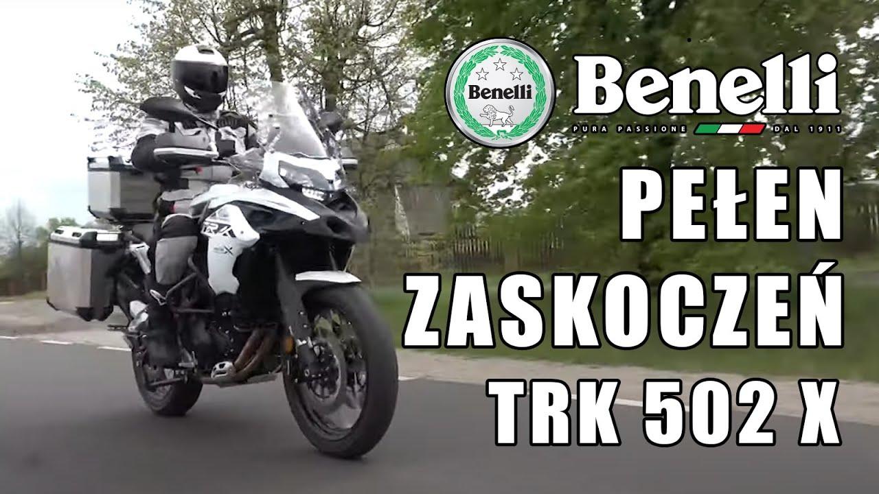 Benelli TRK 502X 2020 - motocykl pełen zaskoczeń