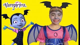 Dominika as Junior Vampirina for kids