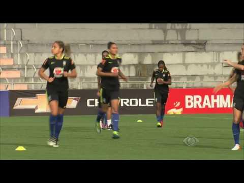 A seleção brasileira de futebol feminino enfrentará a Rússia