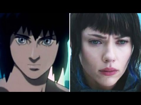 How The Ghost In The Shell Characters Should Really Look