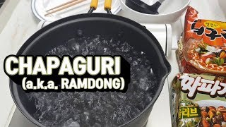 CHAPAGURI Recipe (feat. Chapaghetti, Neoguri) (a.k.a Ramdong)