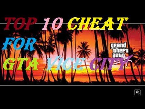 GTA Vice City Cheat Codes For PC   TOP-  