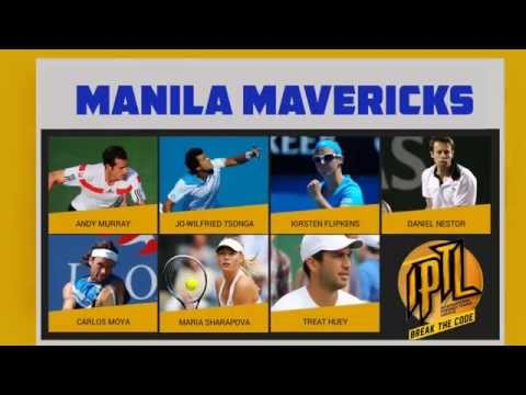 Watch the International Premier Tennis League in Manila, LIVE!