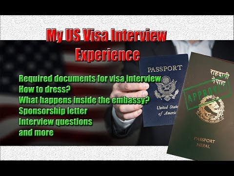 US Visa Interview Experience   Interview Questions   How to DV, Family, Student, Business Visas