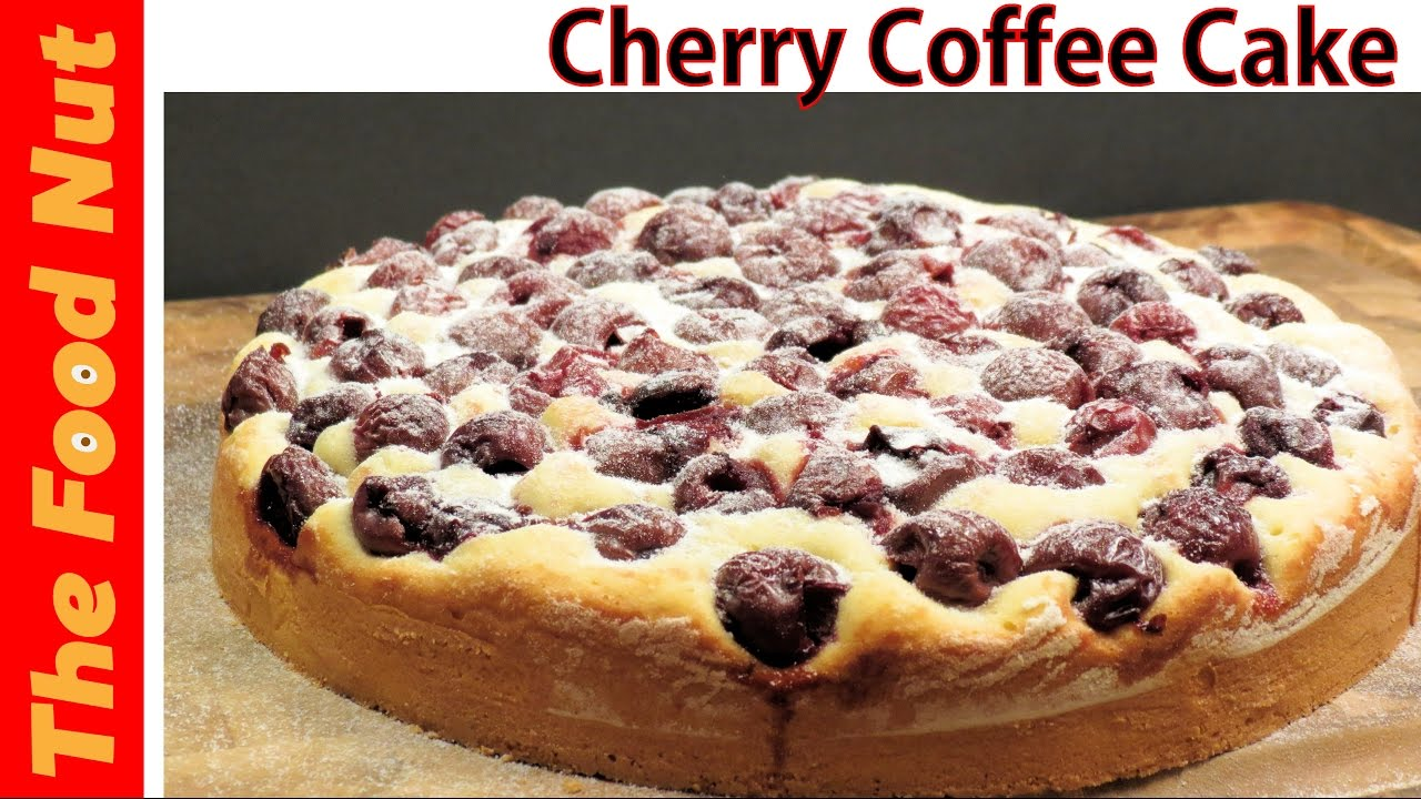 Morello Cherry Recipe Cake