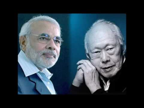 Singapore Media Praised PM MODI And Says A New LEE KUAN YEW Born In India