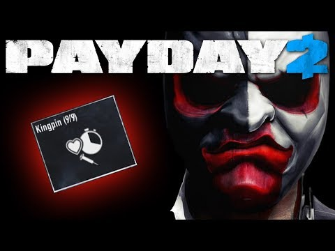 Payday 2 - Kingpin in a nutshell