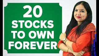 20 Stocks To Own Forever