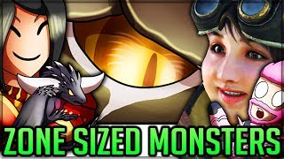 HOW BIG/SMALL CAN YOU MAKE MONSTERS - Quest Editor - Model Changes - Monster Hunter World PC Mods!