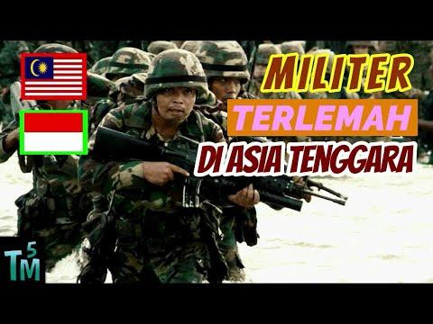TAK DISANGKA, Inilah 5 Militer Terlemah di Asia Tenggara!