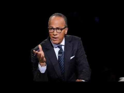 David Stockman: Lester Holt was in the tank for Hillary Clinton