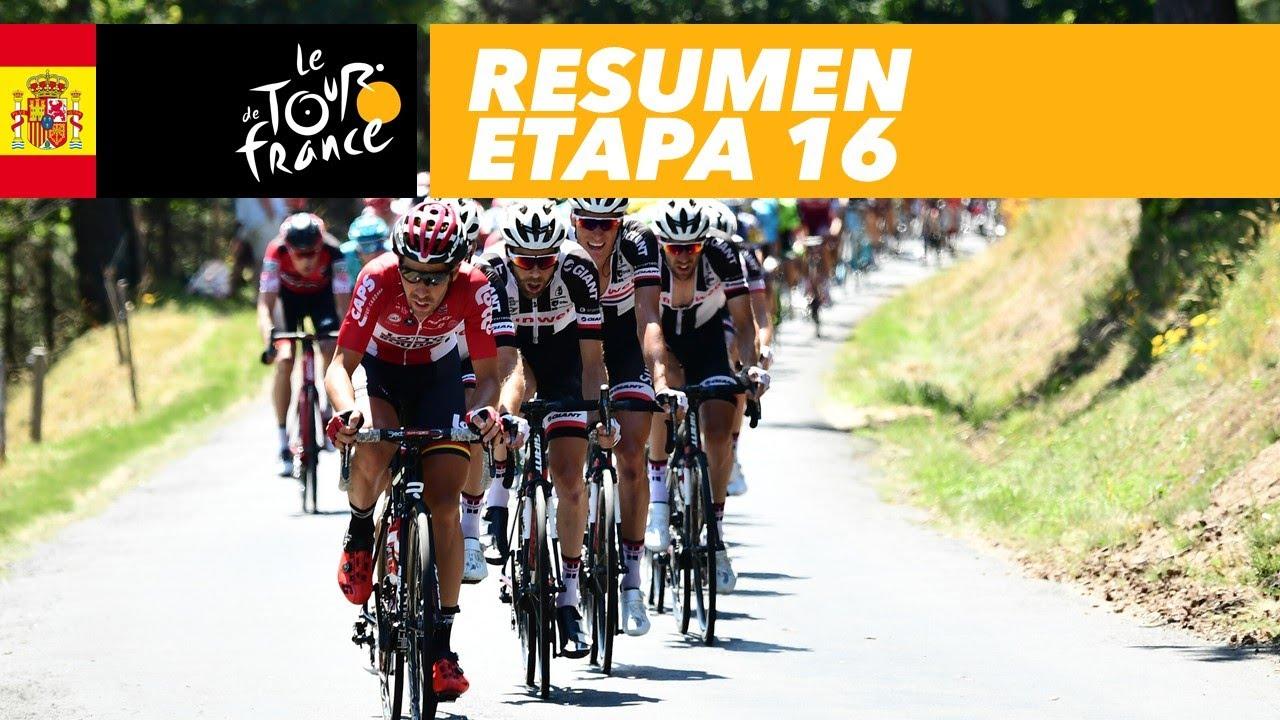 Resumen Etapa 16 Tour De France 2017 Youtube
