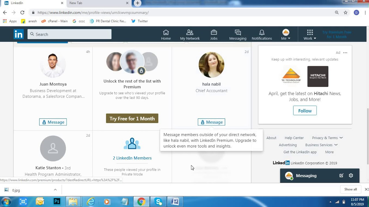 How to Find Who Viewed my Linkedin Profile - YouTube