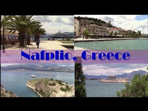 Holland America/ms Oosterdam Greek Isles port Nafplio, Greece!! - A scenic walk in the OLD TOWN.