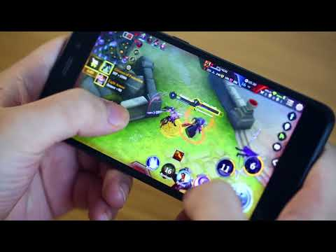 Vernee M5 - Arena of Valor gaming test