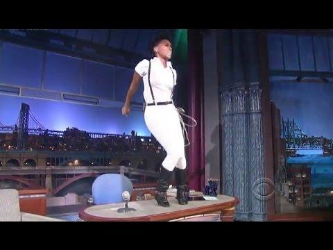 "[HD] Janelle Monáe - ""Dance Apocalyptic"" 9/9/13 David Letterman"