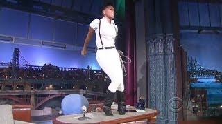 "[HD] Janelle Monáe - ""Dance Apocalyptic"" 9/9/13 David Letterman"