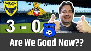 Oxford United 3 - 0 Doncaster Rovers: Review | Another Great Win. Are We Good Now!?