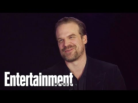 David Harbour Teases Who He'd Like To Work With In 'Stranger Things 3' | Entertainment Weekly