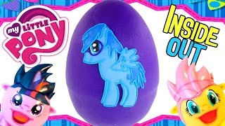 Sadness Pony My Little Pony Surprise Radz Egg - GIANT Play Doh Inside Out MLP Huevos Sorpresa