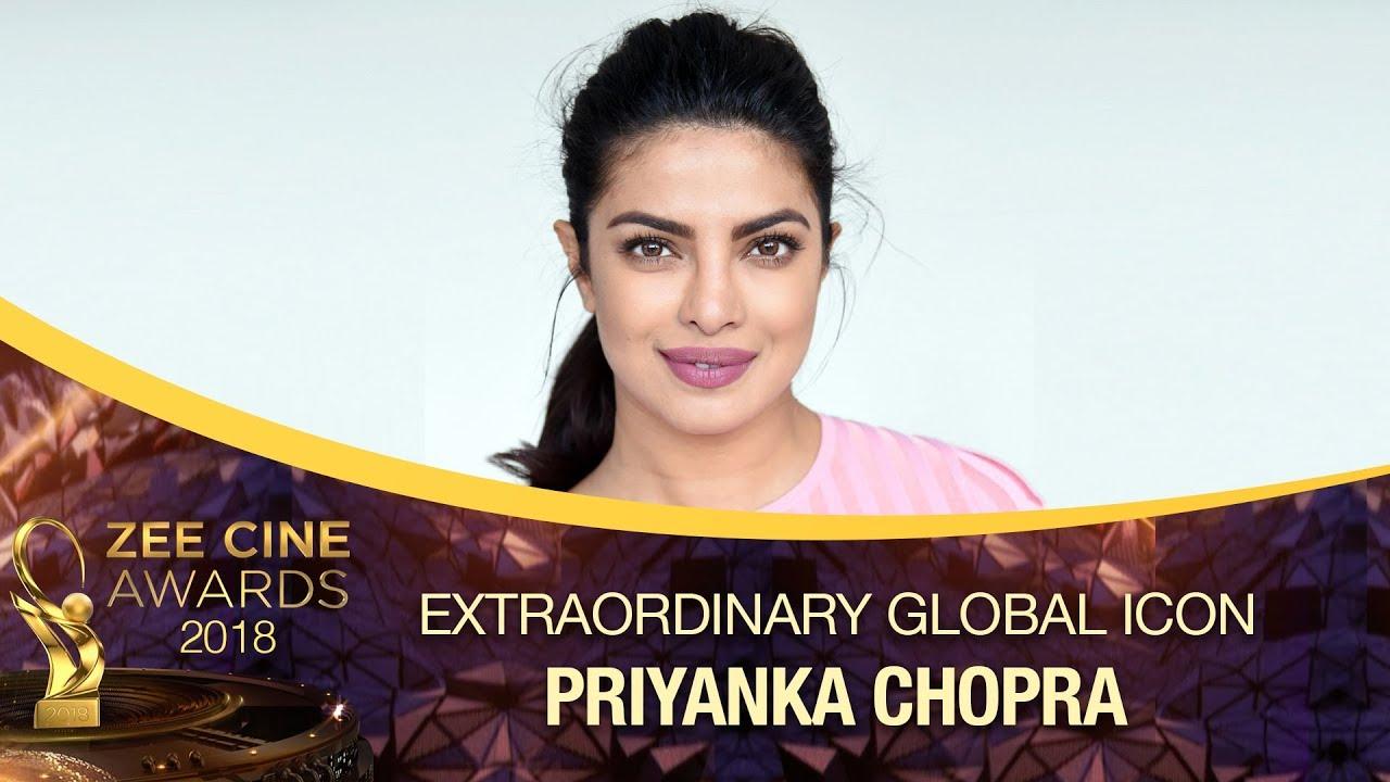 Download Priyanka Chopra Honoured With Global Icon Extraordinary Award | Zee Cine Awards 2018
