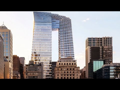 'Pantscraper' tower added to Melbourne's skyline