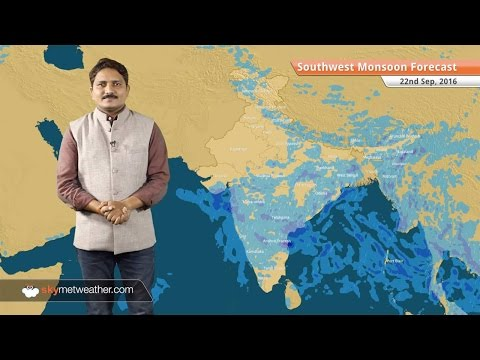 Monsoon 2016 Forecast for Sep 22: Good Monsoon rains over Mumbai, subdued over Delhi