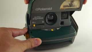 Polaroid One Step Express 600 (Green)