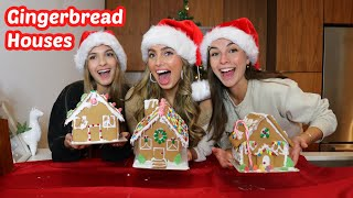 MAKING GINGERBREAD HOUSES!