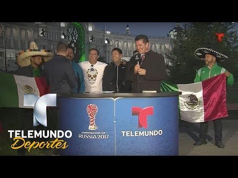 México Es Local En La Copa Confederaciones 2017   Copa FIFA Confederaciones Rusia 2017   Telemundo