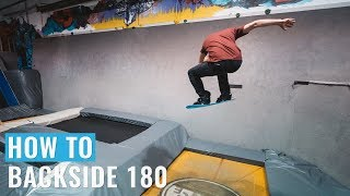 How To Backside 180 On A Snowboard