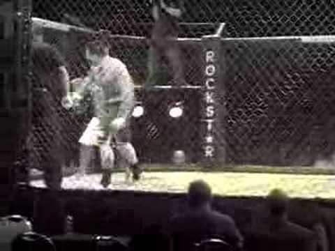 Paul O'Keefe Cage fight