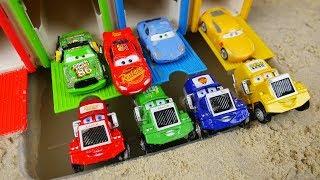 Aprender Colores y Numeros en Español - Cars & Lightning McQueen - Aprender Colores para ninos