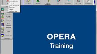 01 Introduction to OPERA PMS screenshot 4