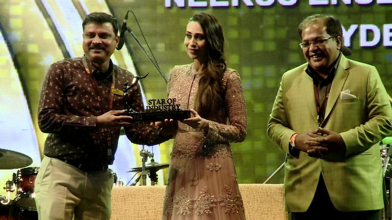 Neerus Ensembles Pvt Ltd, Hyderabad|Star of Industry Award by Karishma  Kapoor | RAGHANI