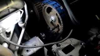 Замена ремня грм ew10 Citroen Peugeot PSA timing belt replacement citroën