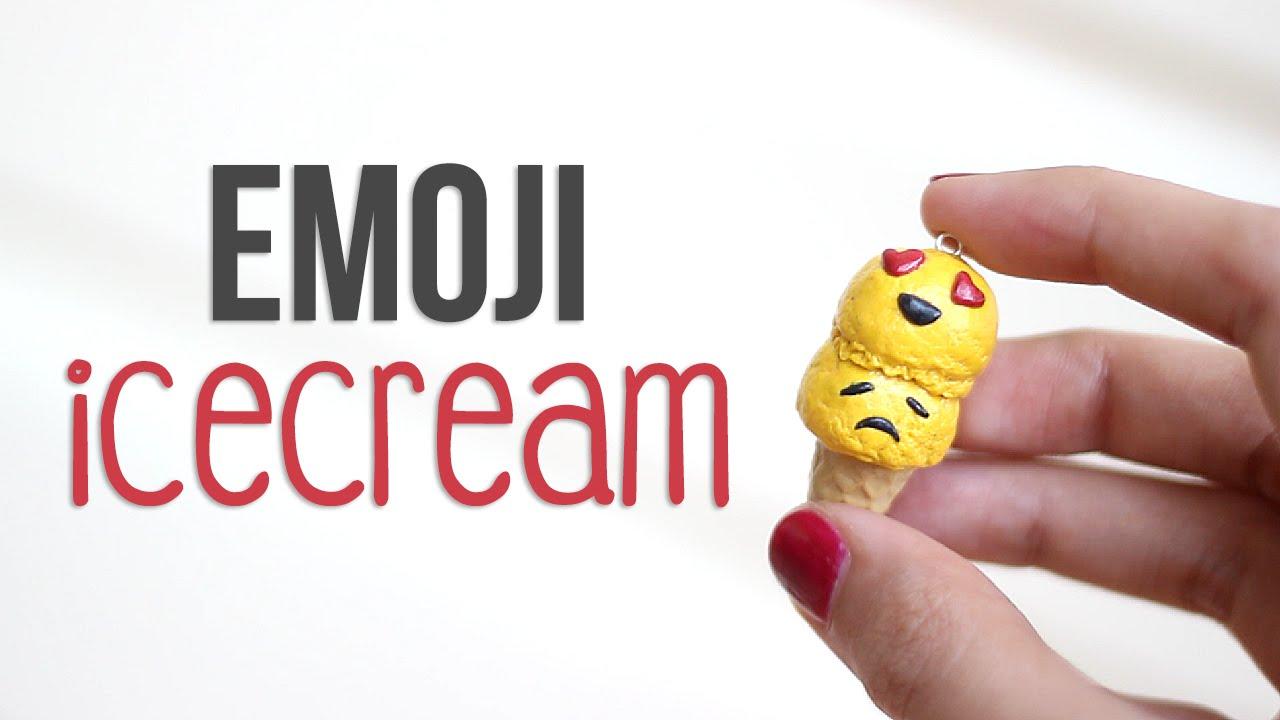 Diy Emoji Ice Cream Youtube
