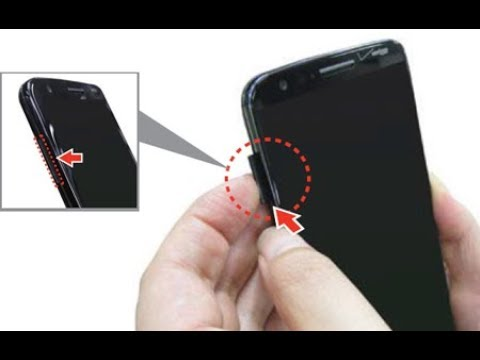 LG X Charge How To Remove And Install SIM / Memory CARD