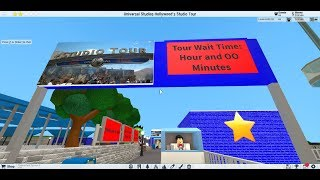 Universal Studios Hollywood, World Famous Studio Tour (Mini Version) Roblox TPT2.