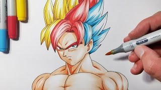 How To Draw a Super Saiyan Hair -  Step By Step Tutorial!
