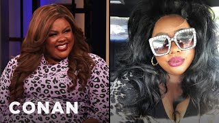 Nicole Byer Went All Out For Her Driver's License Photo - CONAN on TBS