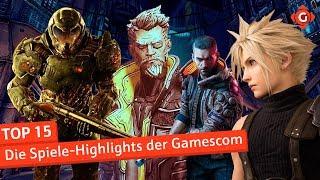 Top 15: Die Spiele-Highlights der Gamescom   Special