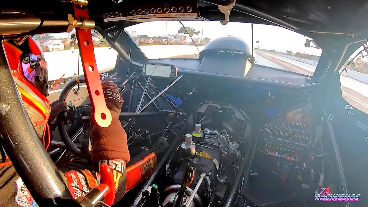 Ride Along with Lizzy Musi in the Edelbrock Pro Nitrous Dart! Sound On!