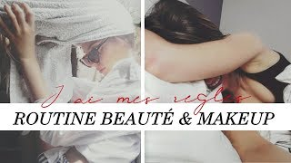 MA ROUTINE BEAUTÉ & MAKEUP PENDANT MES REGLES