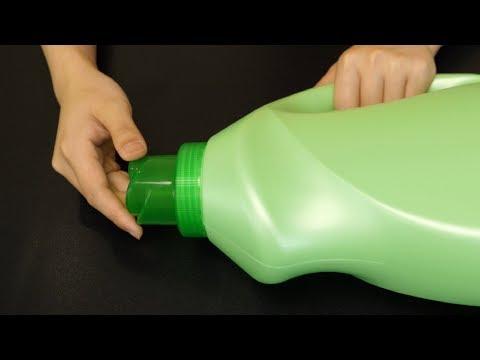 洗衣液瓶盖可是个宝,改造一下,放卫生间有大用处,花钱都买不到