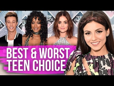 Best & Worst Dressed Teen Choice Awards 2016 (Dirty Laundry)